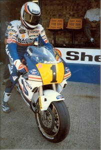 Eddie Lawson Donington Park British GP 1989