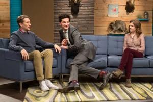 Scott Aukerman, Ben Schwartz and Anna Kendrick in 'Comedy Bang! Bang!'