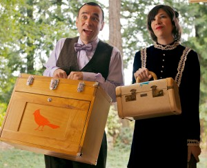 Fred Armison and Carrie Brownstein in 'Portlandia'.