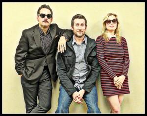 Paul F Tompkins, Scott Aukerman and Gillian Jacobs on the 'Comedy Bang! Bang!' podcast