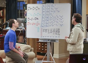 Johnny Galecki and Jim Parsons in 'The Big Bang Theory'.
