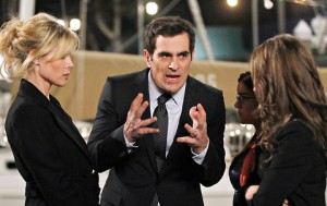 Julie Bowen and Ty Burrell in 'Modern Family'