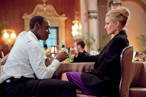 Don Cheadle and Kristen Bell in 'House of Lies'.