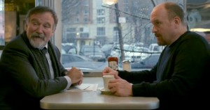Robin Williams guesting on 'Louie'.