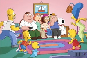 The Simpsons/Family Guy crossover