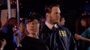Aubrey Plaza and Chris Pratt in 'Parks and Rec'